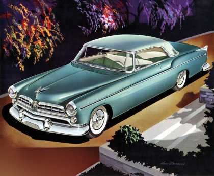 Chrysler Windsor Deluxe Newport Larry 			Baranovic (1955)