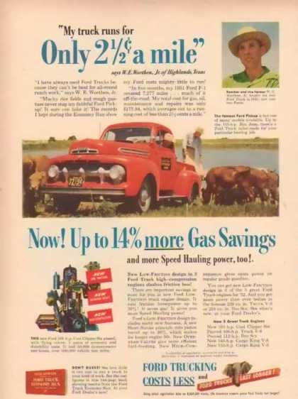 Ford Trucks – 2 1/2 Cents a Mile (1951)