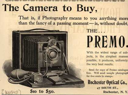Kodak's Premo cameras – The Camera to Buy (1894)