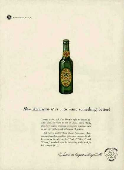 "Ballantine Ale ""How American It Is"" (1942)"