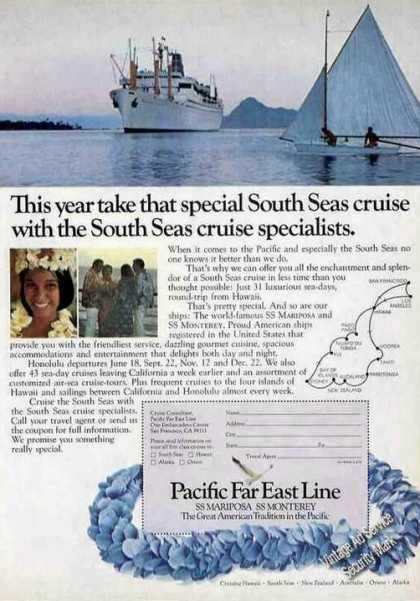 Ss Mariposa & Ss Monterey To South Seas Travel (1973)