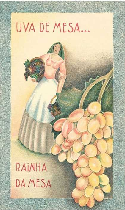 Portuguese Table Grape Label