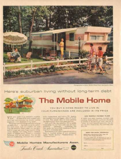 Trailer Coach Mobile Home Dorothy Gray Peach (1959)