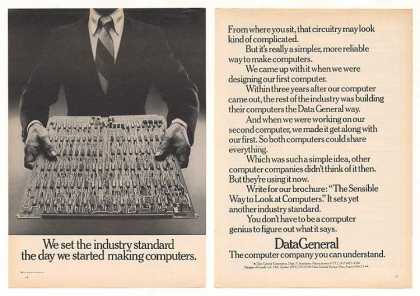 Data General Computer Circuit Board Standard 2P (1974)