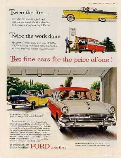 Ford Sunliner & Ranch Wagon (1956)