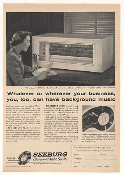 Seeburg Select-O-Matic Library Unit Music (1955)