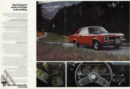 Opel Nice 2 Page Color Photos (1974)