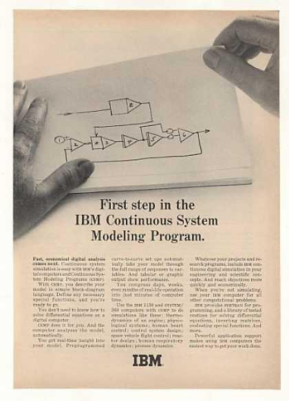 IBM Computer CSMP Continuous Sys Model Program (1966)