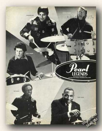 Louis Bellson/shelly Manne/art Blakey Pearl Promo (1976)