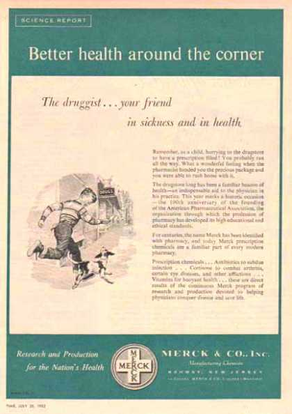 Merck & Company – Better Health – Sold (1952)