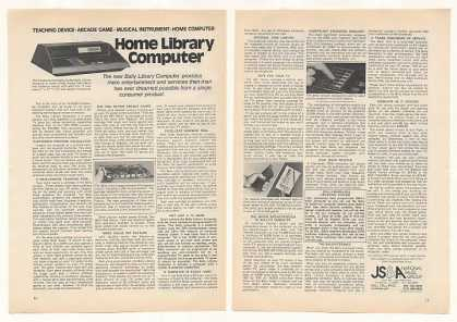 JS&amp;A Bally Library Computer (1977)