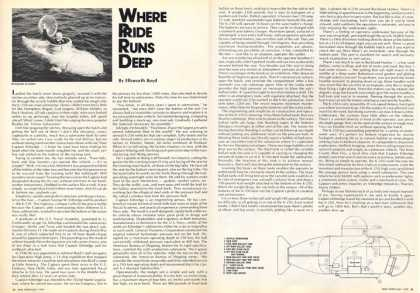 K-250 1 Man Submarine Midget Sub Article (1975)