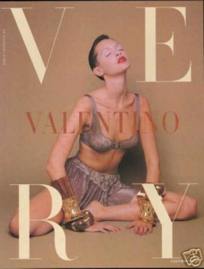 Sexy Woman Photo Valentino Bra Lingerie (1993)