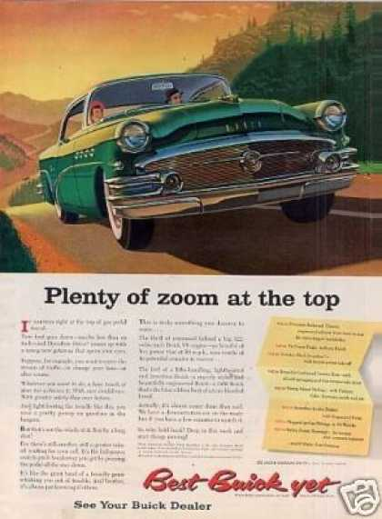 "Buick Car Ad ""Plenty of Zoom... (1956)"