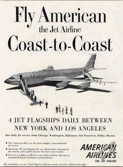 American Airlines 707 Jet Flagships (1959)