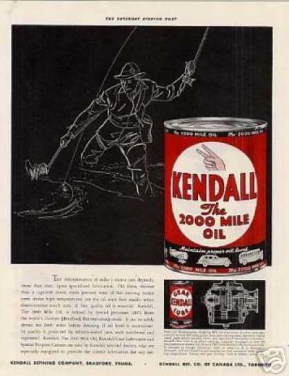 Kendall Motor Oil Color (1938)