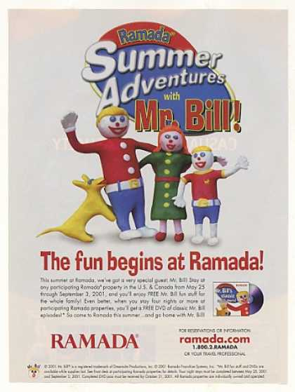 Mr Bill Family Summer Adventures Ramada Hotel (2001)
