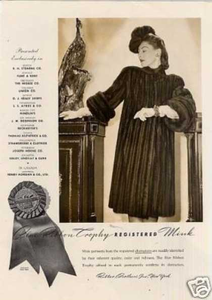 Vintage Clothes Fashion Ads Of The 1940s Page 3