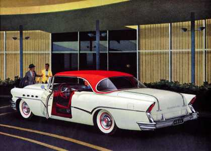 Adventure in Magnificence Buick 			Roadmaster two-door Riviera, Model 76R (1956)