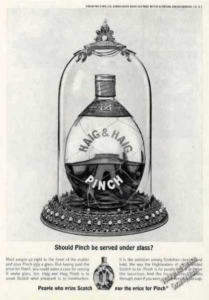 Should Pinch Be Served Under Glass? Haig & Haig (1963)