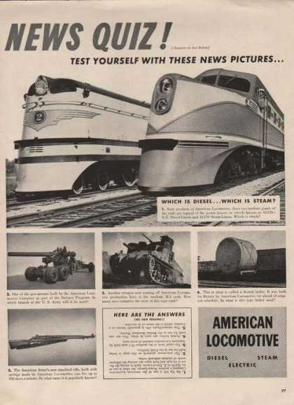 American Locomotive Train (1941)