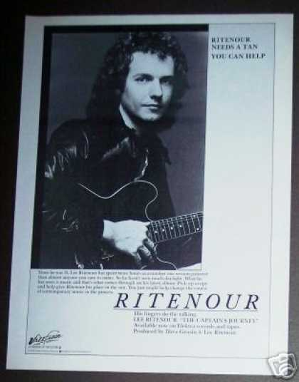 Lee Ritenour the Captain's Journey Record Promo (1978)