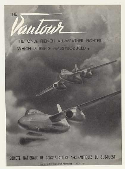 Sud Vautour All-Weather Fighter Aircraft (1955)