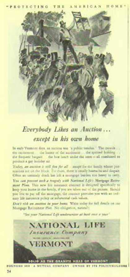 National Life Insurance Co. – Everybody Likes an Auction (1948)