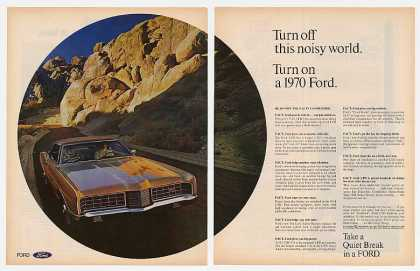 Ford LTD Turn Off Noisy World (1970)