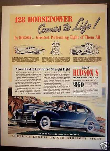 Hudson Eight Touring Sedan Car (1940)