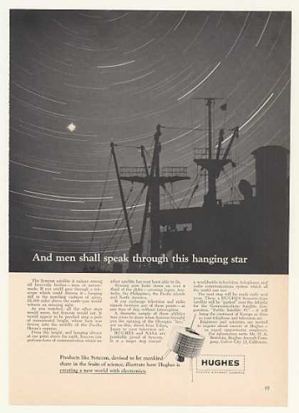 Hughes Syncom TV Radio Communications Satellite (1964)