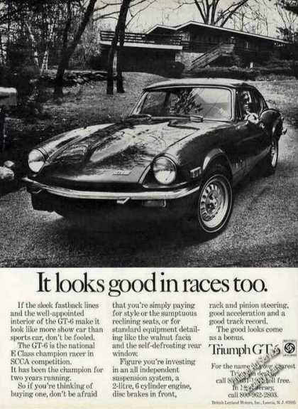 "Triumph Gt-6 ""It Looks Good In Races Too"" (1971)"