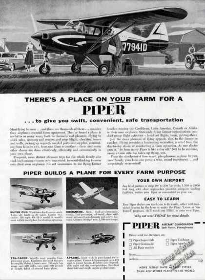 """There's a Place On Your Farm for a Piper"" Nice (1958)"