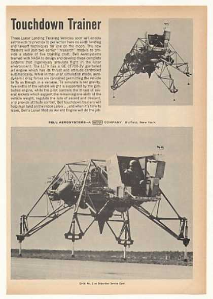 Bell LLTV Lunar Landing Training Vehicle Photo (1967)