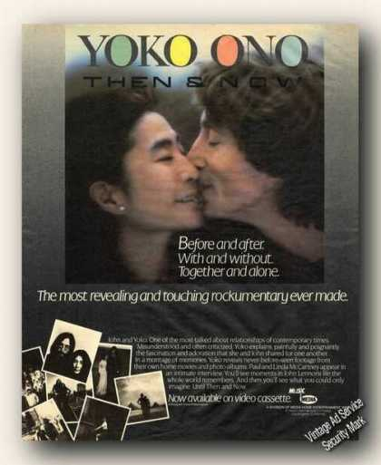 Yoko Ono/john Lennon Photo Video Promo (1984)
