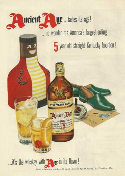 Ancient Age Whiskey (1951)