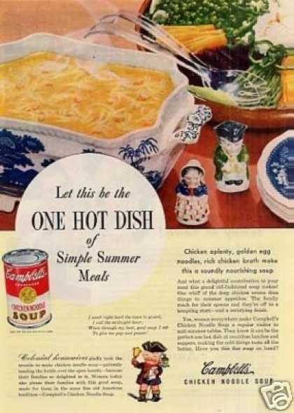 Campbell's Chicken Noodle Soup (1946)