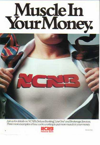 NCNB Bank – Muscle Your Money (1986)