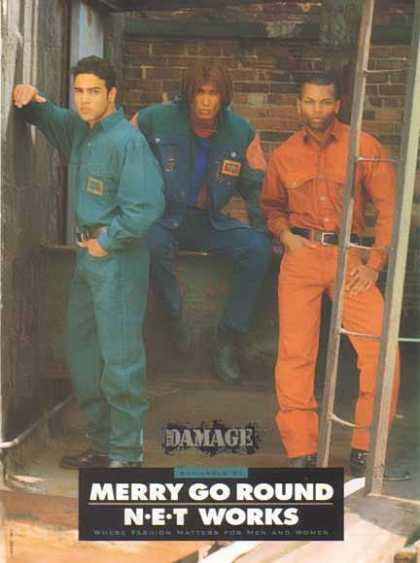 Merry Go Round Clothes Store – Major Damage Fashion Wear (1992)