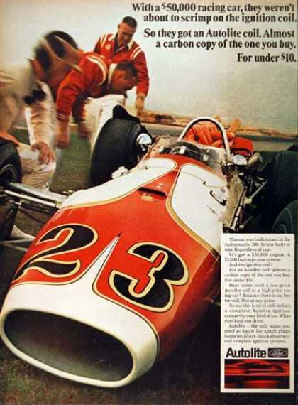 Indianapolis 500 Race Car (1968)