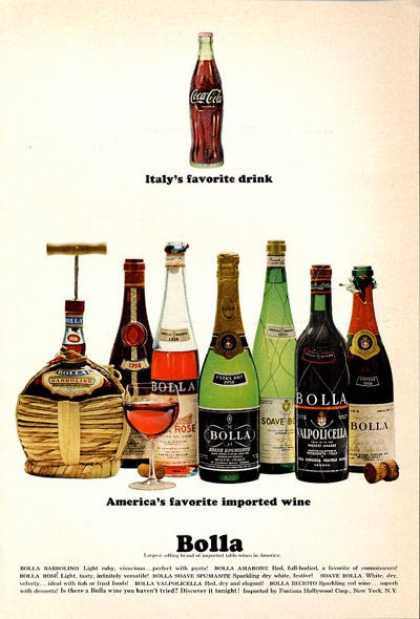 Bolla Wine Bottle (1965)