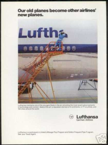 Lufthansa German Airlines Young Airplane Fleet (1986)