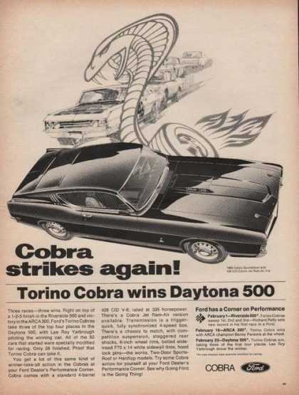Cobra Strikes Again Ford Car (1969)