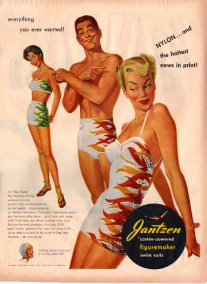 Hot Jantzen Swim Suit (1950)
