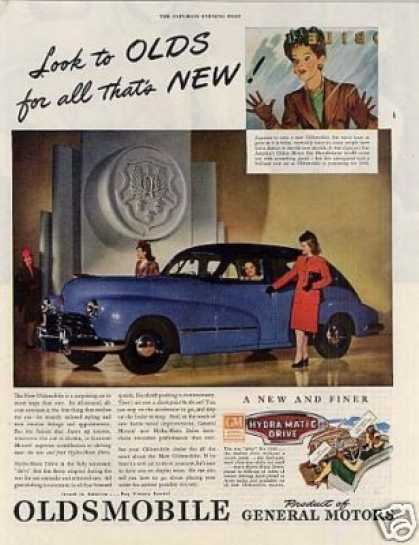 Oldsmobile Car (1946)