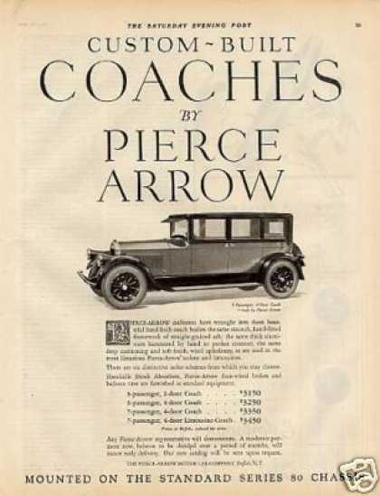 Pierce-arrow 4-door Coach (1926)