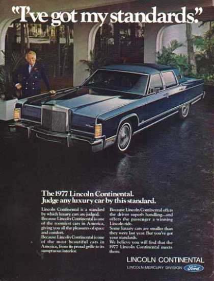 Ford Car – Ford Lincoln Continental / Dark Blue (1977)