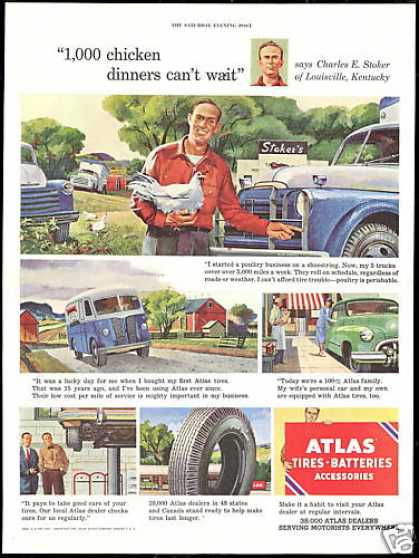 Louisville Kentucky Stoker Poultry Atlas Tire (1951)