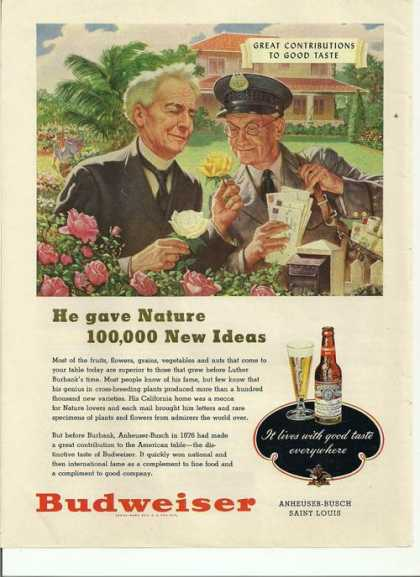 100,000 New Ideas Budweiser Beer (1948)