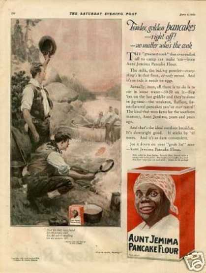 Aunt Jemima Pancakes Color (1920)